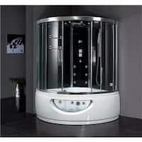 Ariel Platinum Steam Shower and Whirlpool Bathtub