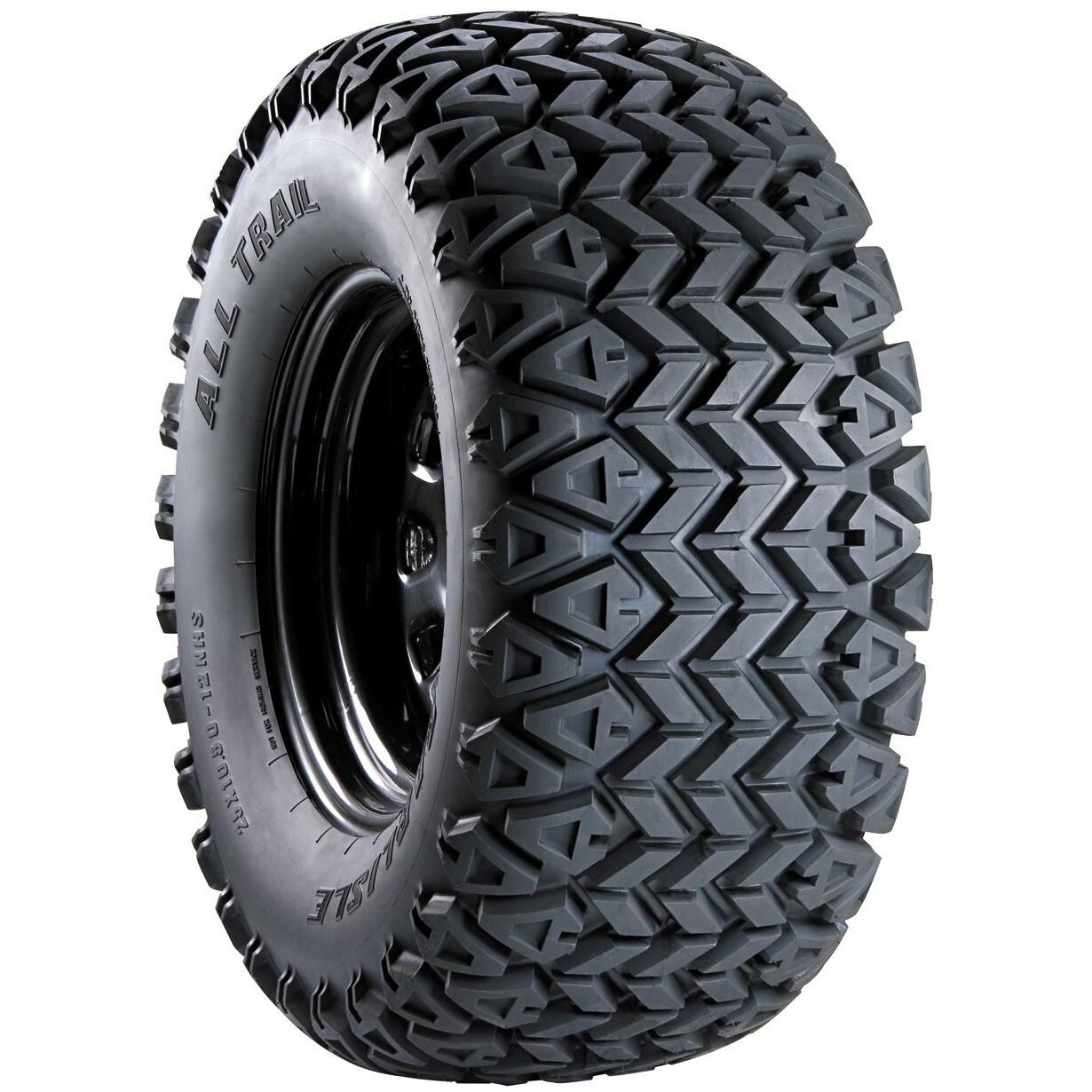 Carlisle All Trail ATV Tire - 25X800-12 LRB/4 ply (Black)