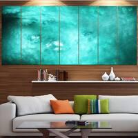 Designart 'Blur Blue Sky with Stars' Abstract Artwork on Canvas