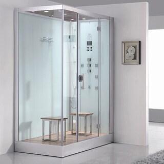 Ariel Bath DZ961F8W R Platinum 59-inch x 35.4-inch Steam Shower and Sauna