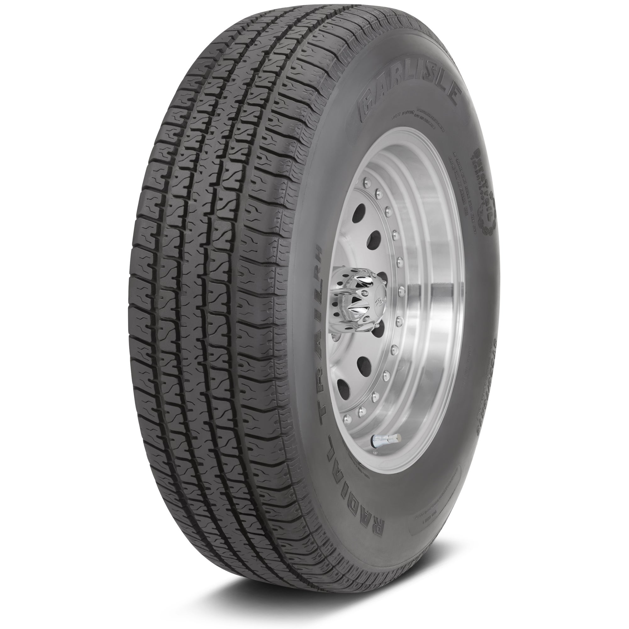 Carlisle Radial Trail RH Trailer Tire - ST145R12 LRD/8 pl...