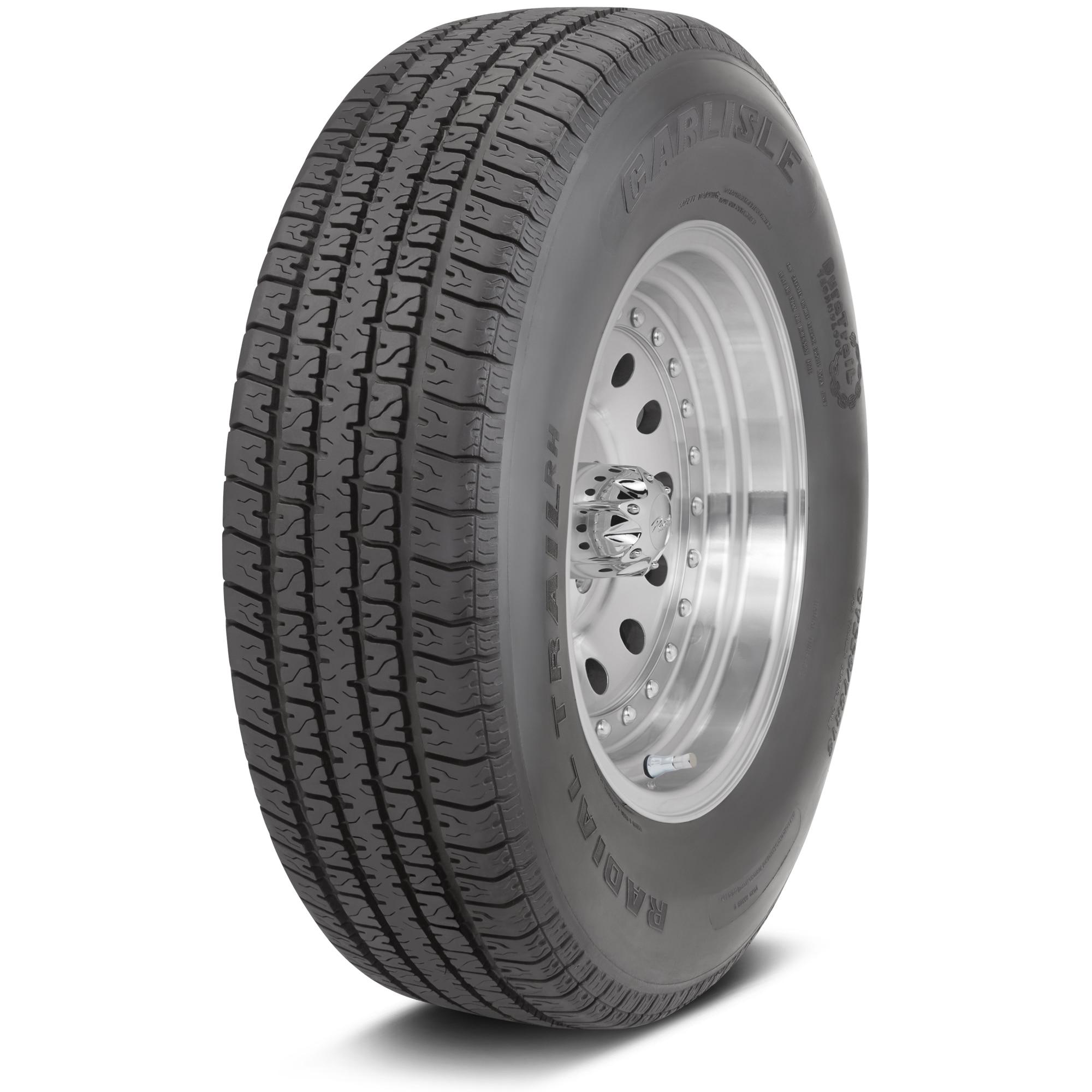 Carlisle Radial Trail RH Trailer Tire - ST145R12 LRE/10 p...