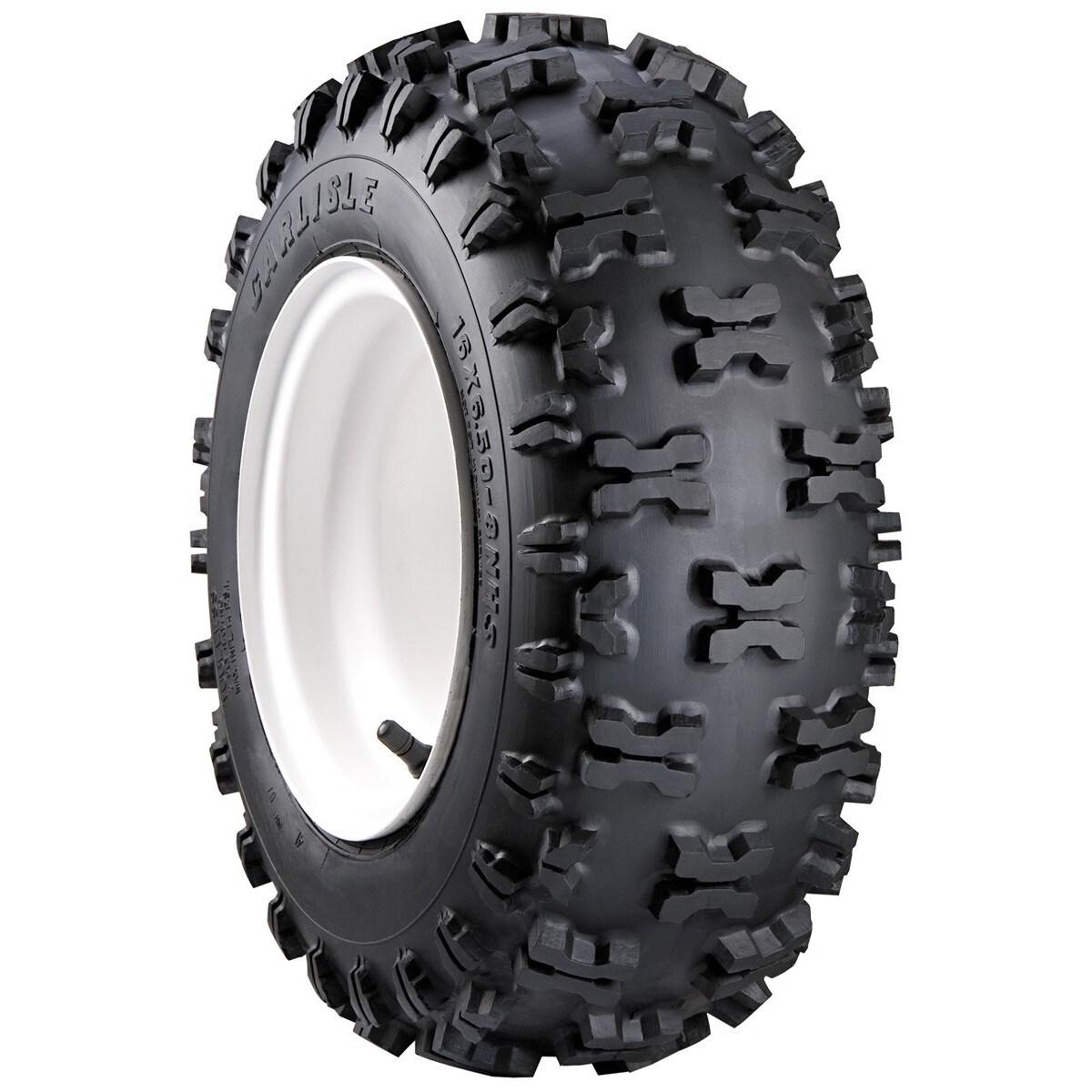 Carlisle Snow Hog Snow Thrower Tire - 410-6 LRA/2 ply (Bl...