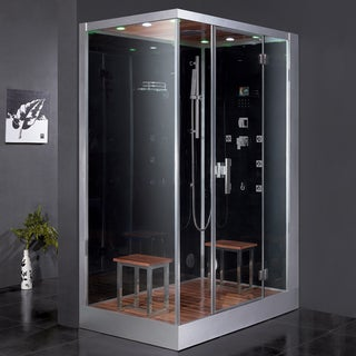 Ariel Platinum DZ961F8 Black Right Steam Shower