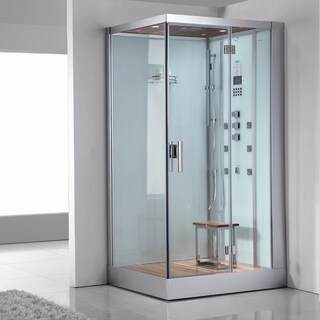 ARIEL Bath DZ959F8W R Platinum Steam Shower Sauna - 47 x 35.4