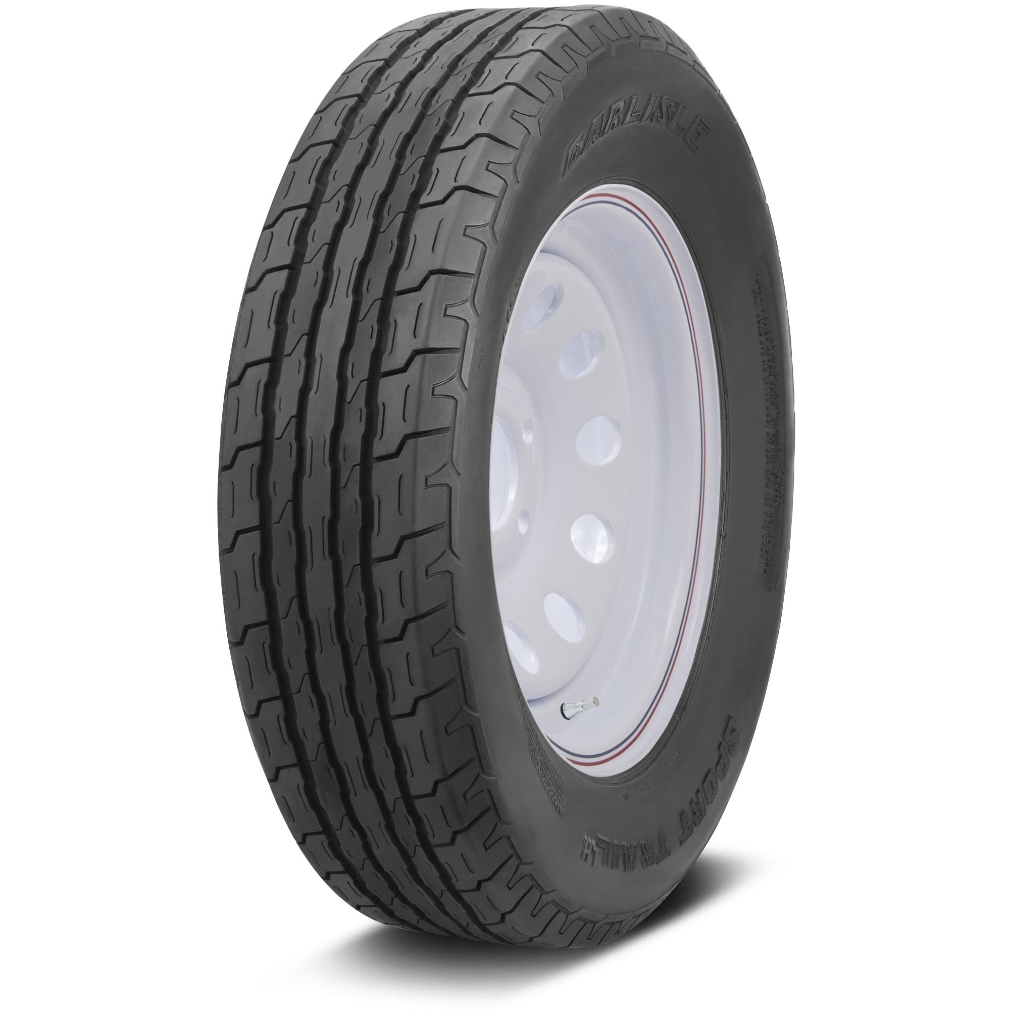 Carlisle Sport Trail LH Bias Trailer Tire - 480-12 LRC/6 ...