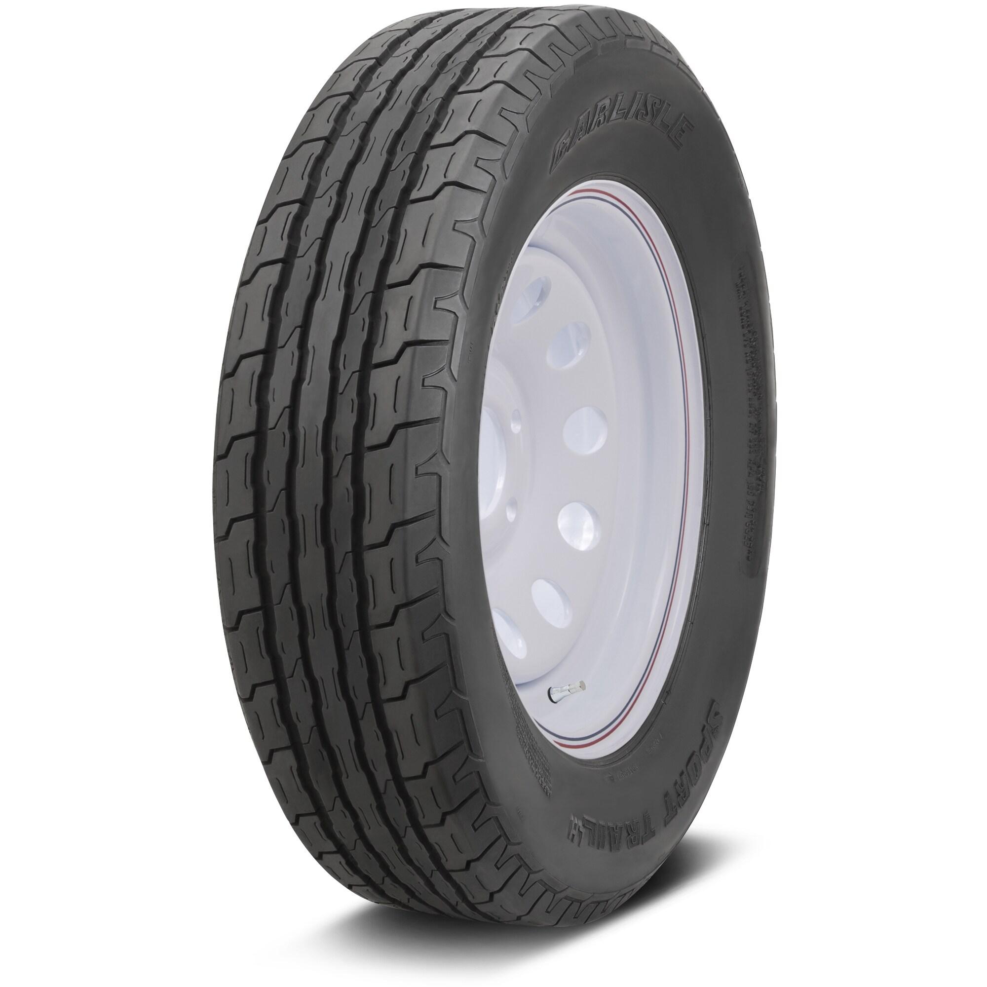 Carlisle Sport Trail LH Bias Trailer Tire - ST175/80D13 L...