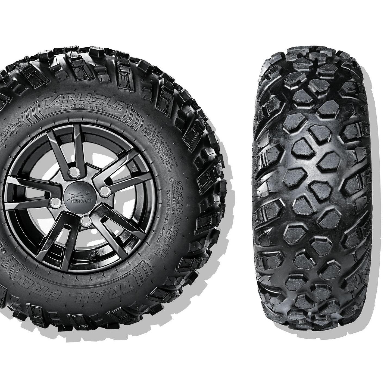 Carlisle Trail Pro ATV Tire - 27X900-14 LRC/6 ply (Black)