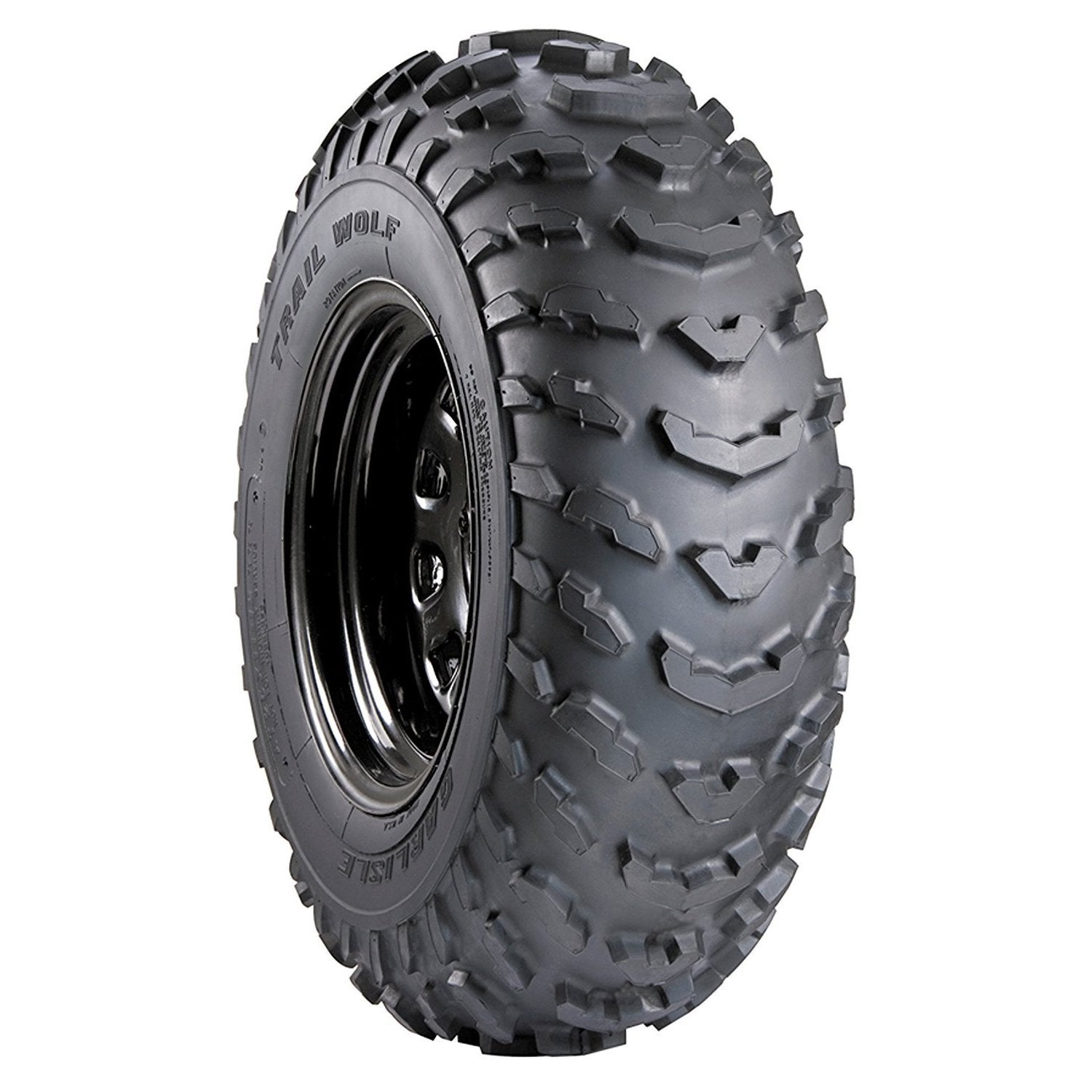 Carlisle Trail Wolf ATV Tire - 19X7-8 1* (Black)