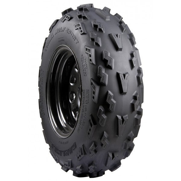 Carlisle Trail Wolf Sport ATV Tire - 21X7-10 3* (Black)