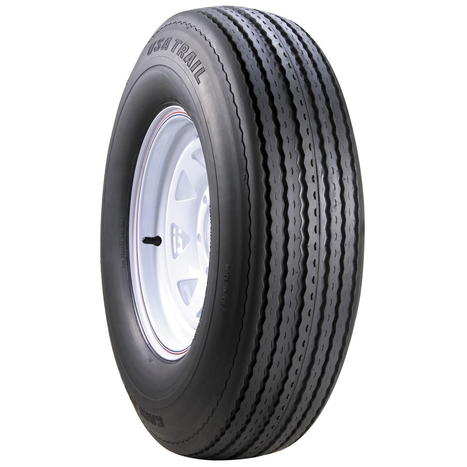 Carlisle USA Trail Bias Trailer Tire - ST205/75D14 LRC/6 ...