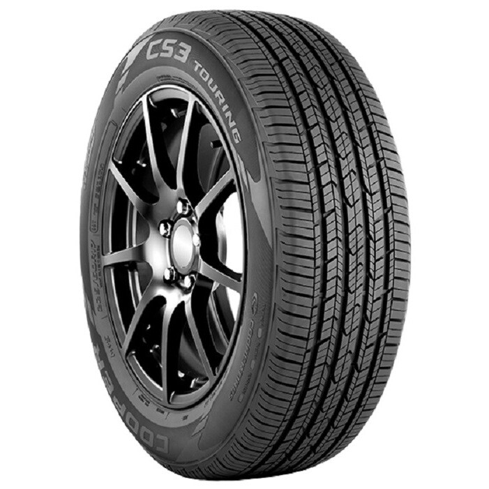 COOPER CS3 Touring All Season Tire - 225/55R17 97H (Black)