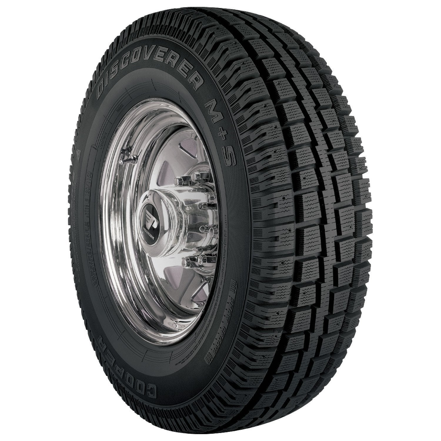 COOPER Discoverer M+S Winter Tire - 255/65R17 110S (Black)