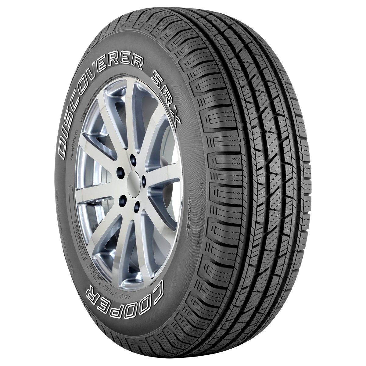 COOPER Discoverer SRX All Season Tire - 255/65R17 110T (B...