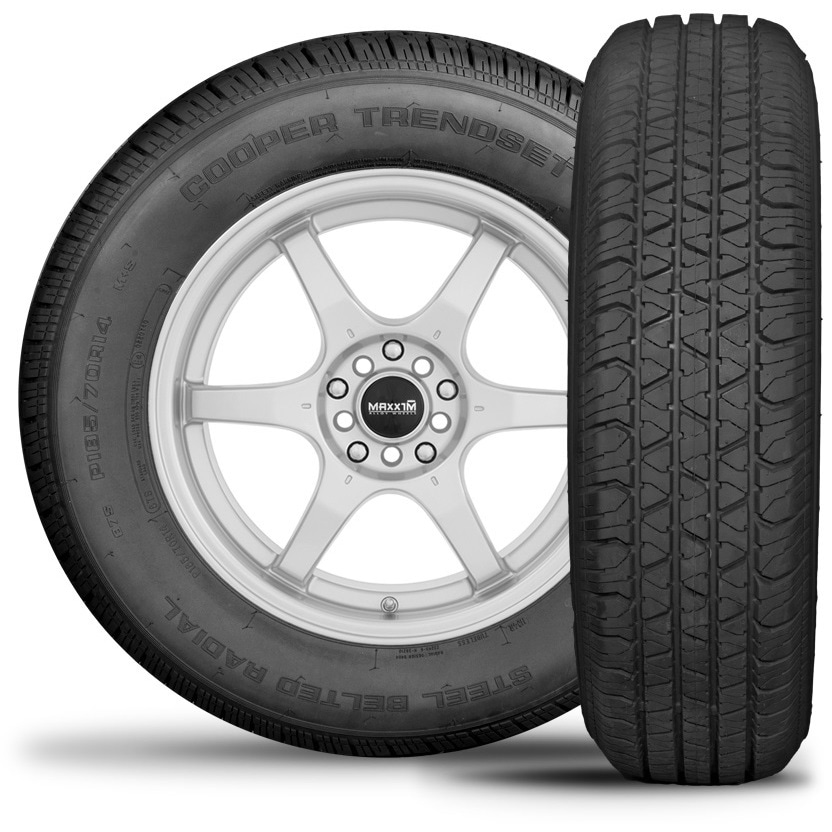COOPER Trendsetter SE All Season Tire - 155/80R13 79S (Bl...