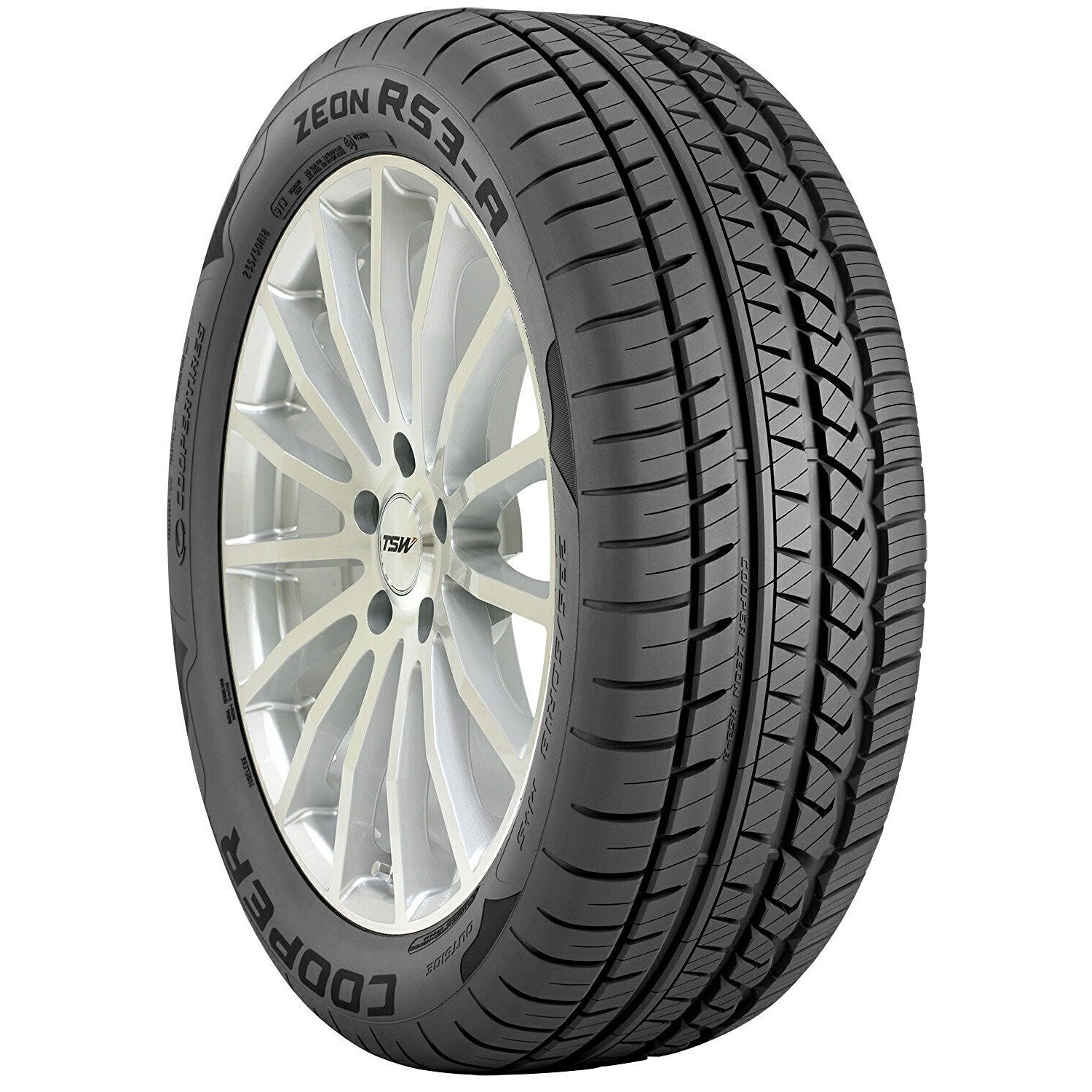 COOPER Zeon RS3-A All Season Performance Tire - 205/50R17...