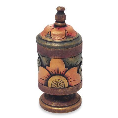 Decorative Wood Box, 'Cupu Majapahit' (Indonesia)