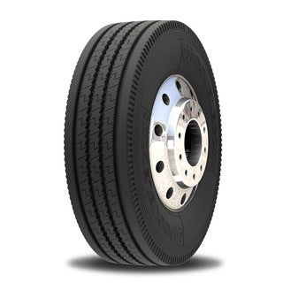 Double Coin RT606 Ultra Premium 5-Rib Regional Steer/All-Position Commercial Radial Truck Tire - 11R22.5 16 ply