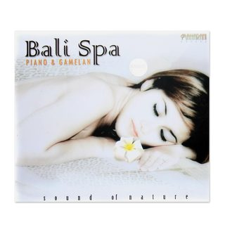 Audio CD, 'Bali Spa Piano and Gamelan' (Indonesia)