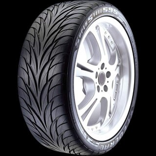 Federal SS595 Performance Tire - 185/60R13 80H