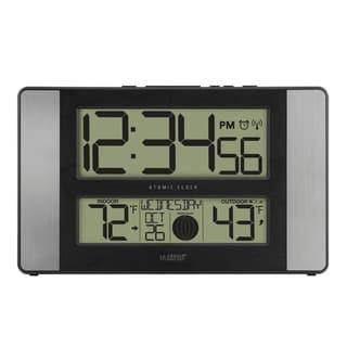 La Crosse Technology 513-1417AL Atomic Digital Clock with Temp