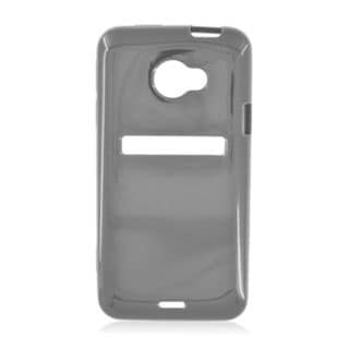 Insten Black Soft Silicone Skin Rubber Case Cover For HTC EVO 4G LTE