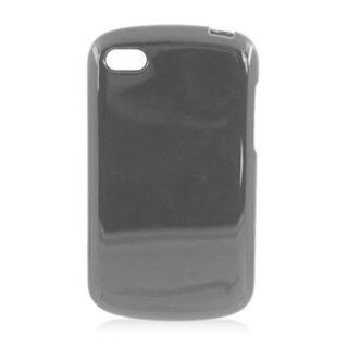Insten Black TPU Rubber Candy Skin Case Cover For BlackBerry Q10