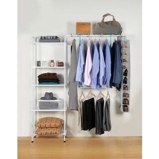 UCloset 5 Shelf with Fabric Shoe Rack