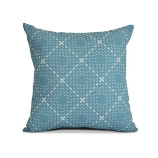 Geometric, Dots and Dashes Outdoor Pillow