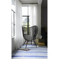 "Novogratz by Momeni District Blue Beachside Rug (7'6"" x 9'6"") - 7'6"" x 9'6"""