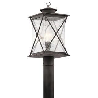 Kichler Lighting Argyle Collection 1-light Weathered Zinc Outdoor LED Post Mount