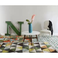 Novogratz by Momeni Bungalow Triangles Rug - 9' x 12'