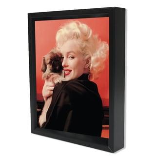 Marilyn Monroe - Puppy - 8x10 3D Shadowbox by Pyramid America