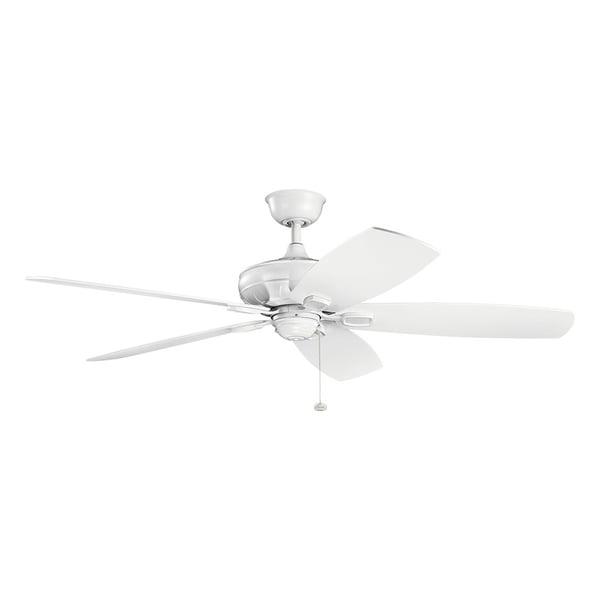 Kichler Lighting Ashbyrn Collection 60 Inch Matte White Ceiling Fan