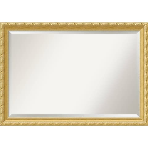 Wall Mirror Extra Large, Versailles Gold 40 x 28-inch - Antique Gold - extra large - 40 x 28-inch