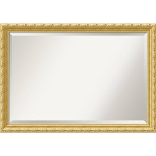 Wall Mirror Extra Large, Versailles Gold 40 x 28-inch