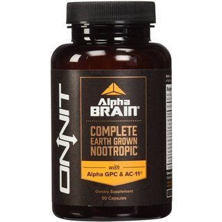 Onnit Labs Alpha Brain (90 Capsules)