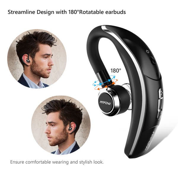 Shop Wireless Bluetooth 4 1 Headset Headphones With Clear Voice Capture Technology Overstock 15367225