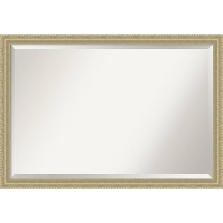 Wall Mirror Extra Large, Champagne Teardrop 39 x 27-inch