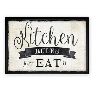 Just Eat It - Black Frame