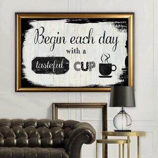 Tasteful Cup - Gold Frame