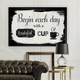 Tasteful Cup - Black Frame
