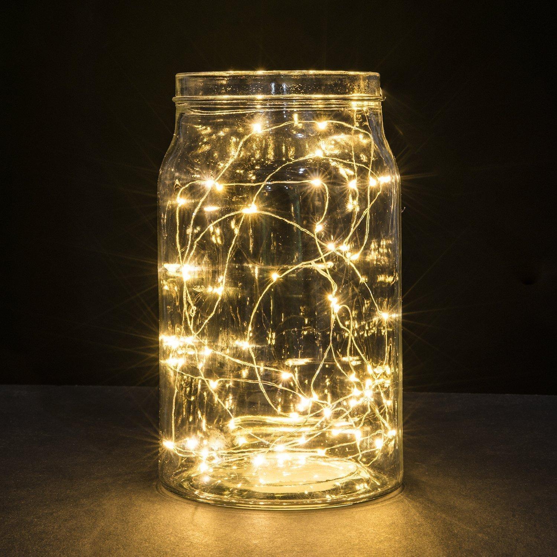 100 LED Copper Light - Warm White (32ft) (32ft, Warm Whit...