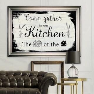 Come Gather -Silver Frame