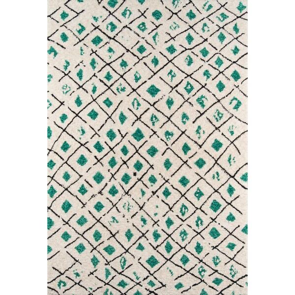 Novogratz by Momeni Bungalow Grid Rug (9' x 12') - 9' x 12'