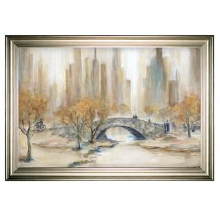 Central Park -Silver Frame