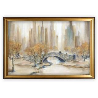Central Park - Gold Frame