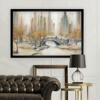 Central Park - Black Frame