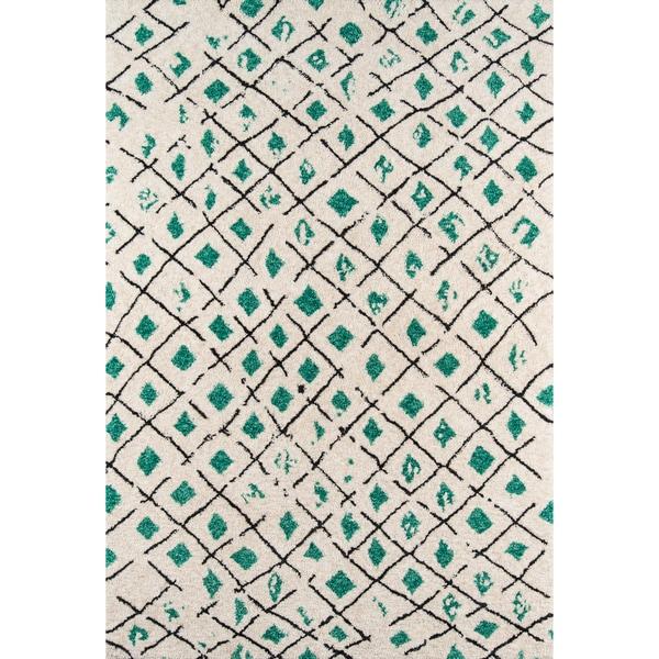 "Novogratz by Momeni Bungalow Grid Rug (7'6"" x 9'6"") - 7'6"" x 9'6"""