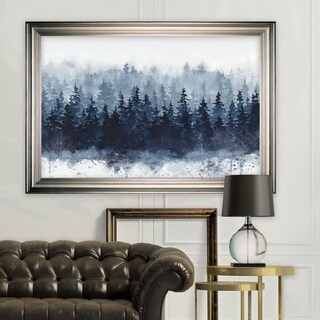 Indigo Forest -Silver Frame